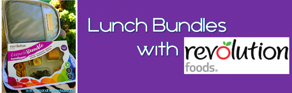 Lunch Bundles with Revolution Foods
